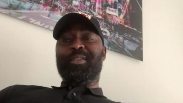 andy cole keeping video diary to document challenges of isolation england int andy cole interview via internet sot cutaways reporter listening - diary stock videos & royalty-free footage