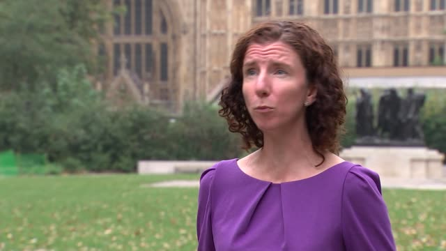 anneliese dodds interview; england: london: westminster: ext anneliese dodds mp interview sot. - well it does appear that seen worrying rise in... - gripping stock videos & royalty-free footage
