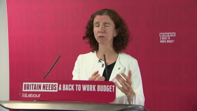 anneliese dodds press conference england london westminster int anneliese dodds mp answering questions via video link sot critical question... - furlough stock videos & royalty-free footage