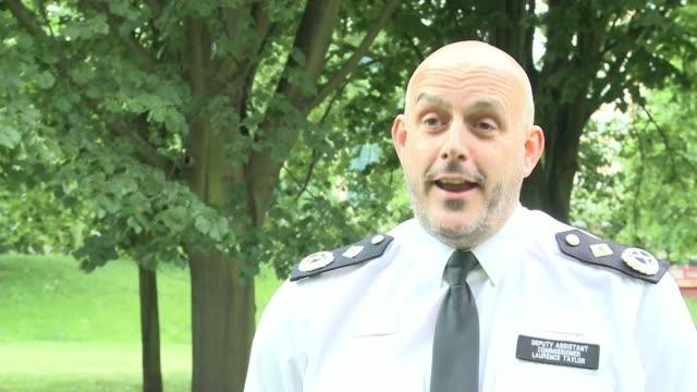 anti-lockdown protests held in london parks as measures eased; uk, london; gvs park / vox pops / metropolitan police interview. england: london: ext... - basket stock videos & royalty-free footage