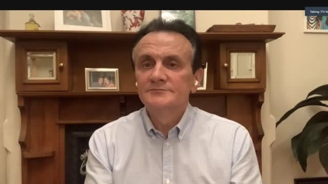 astrazeneca ceo pascal soriot interview; location: england: london: int pascal soriot interview via internet sot, from sydney australia. - so... - excitement stock videos & royalty-free footage