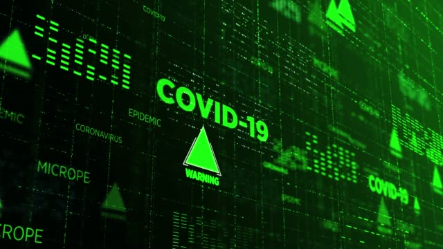 covid-19 coronavirus background - disease vector stock videos & royalty-free footage
