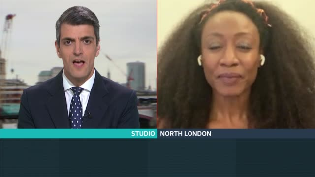 beverley knight leads singers and musicians in charity song for nhs england london gir int beverley knight mbe 2 way interview via internet from... - bill withers stock videos & royalty-free footage