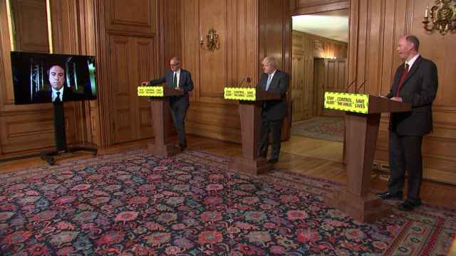 boris johnson announces further easing of restrictions and dropping of 2 metre rule england london westminster downing street wide shot patrick... - distorted stock videos & royalty-free footage