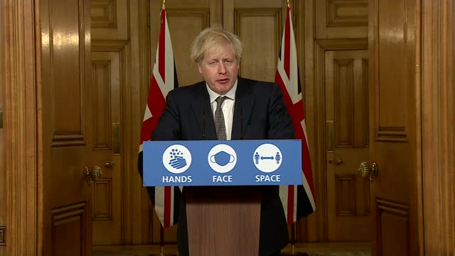 boris johnson calls for shorter, smaller celebrations on christmas to reduce spread of covid; england: london: westminster: int professor chris... - lionel blair stock videos & royalty-free footage