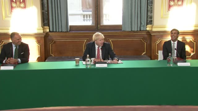 boris johnson holds first post-summer break cabinet meeting warning country must be prepared for more outbreaks; england: london: int general views... - ben wallace stock videos & royalty-free footage