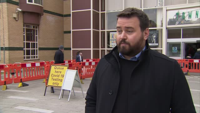 boris johnson says full lockdown can't be ruled out as uk cases surge; england: essex: basildon: ext councillor gavin callaghan interview sot - itv london lunchtime news stock videos & royalty-free footage
