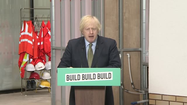 boris johnson speech; england: west midlands: dudley college of technology: int press conference part 2 of 12 boris johnson mp speech sot. - and we... - buddhism stock videos & royalty-free footage