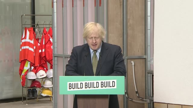 boris johnson speech england west midlands dudley college of technology int press conference part 1 of 12 boris johnson mp speech sot it may seem a... - transparent stock videos & royalty-free footage