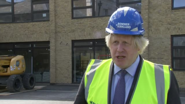 boris johnson to set out plans for multibillion pound spending to boost economy england london ealing ext various shots of boris johnson mp at... - waking up stock videos & royalty-free footage