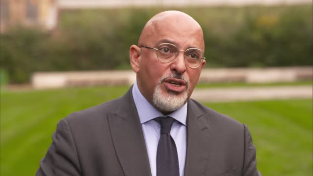 nadhim zahawi interview england london westminster ext nadhim zahawi mp interview sot q legality of local restrictions work with local politicians... - balance stock videos & royalty-free footage