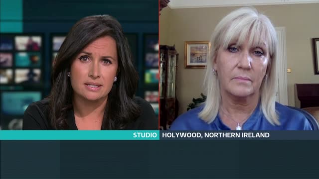 stockvideo's en b-roll-footage met british psychological society publishes new guidance on ways to grieve england london gir int professor nichola rooney live 2way interview from... - new not politics
