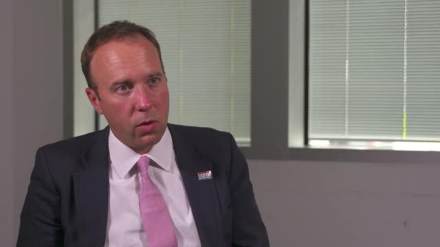 matt hancock says backlog in cancer care will be cleared within months england cambridgeshire cambridge int matt hancock mp wearing face mask with... - medical x ray stock videos & royalty-free footage