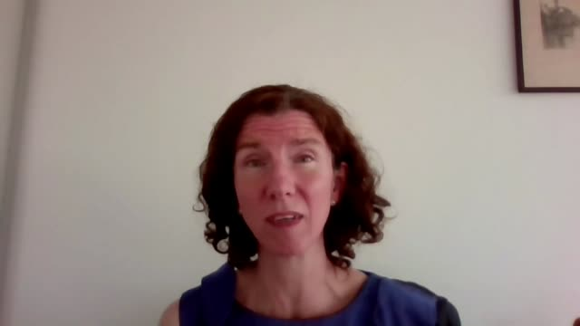 chancellor extends furlough scheme to end of october int anneliese dodds mp interview via internet sot - furlough stock videos & royalty-free footage