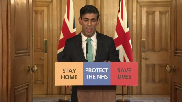 chancellor outlines measures to help the selfemployed england london westminster int rishi sunak mp press conference sot i know that many... - small business stock videos & royalty-free footage