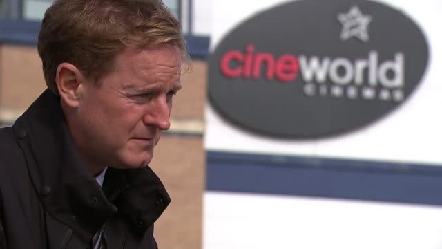 cineworld closure highlights dangers to the night economy as legal challenge mounted against 10.00pm curfew; england: london: leicester square: ext... - west sussex stock videos & royalty-free footage