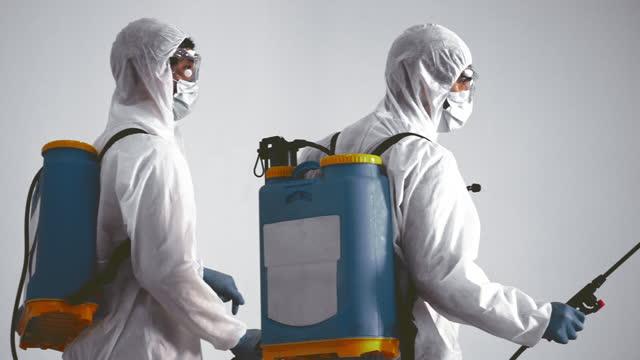 coronavirus , cleaning workwear - satisfaction stock videos & royalty-free footage
