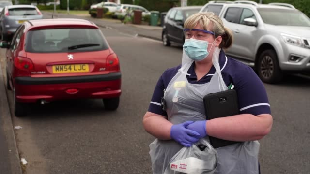 community care teams under pressure inside walsall's rapid response team england west midlands walsall kirsty donaldson opening boot of car ext side... - telephone stock videos & royalty-free footage