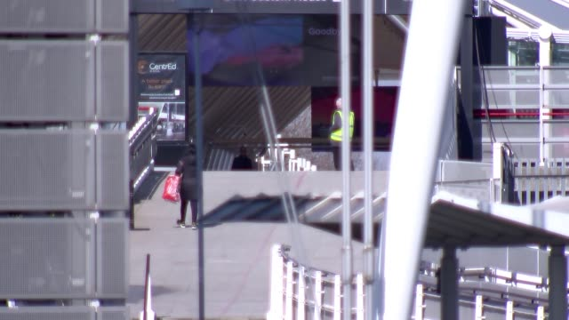 construction activity on nightingale hospital london at excel centre; england: london: docklands: excel centre: ext gvs excel london conference... - london docklands stock videos & royalty-free footage