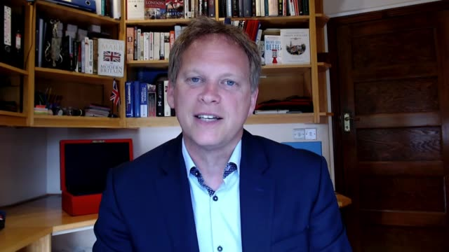 councils in england given new powers to enforce local lockdowns england int grant shapps mp interview via internet sot these new powers will provide... - handle stock videos & royalty-free footage