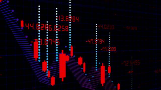 coronavirus covid-19 ekonomisk recession koncept bakgrund bakgrund - börskrasch bildbanksvideor och videomaterial från bakom kulisserna