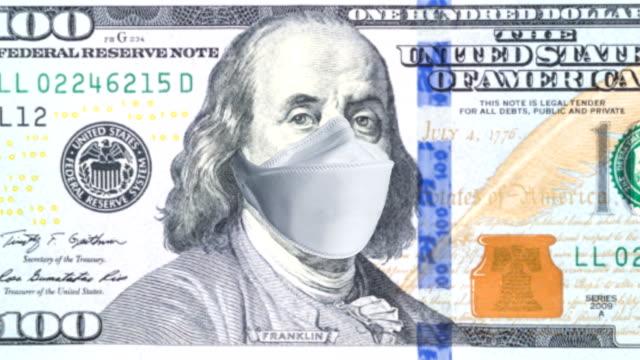 coronavirus covid-19 economic recession concept background - deterioration stock videos & royalty-free footage