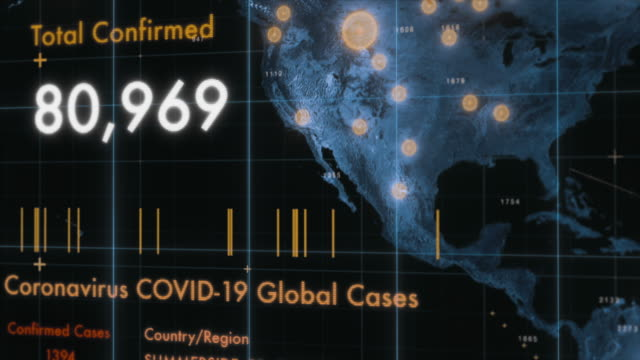 coronavirus covid-19 global cases - infectious disease stock videos & royalty-free footage