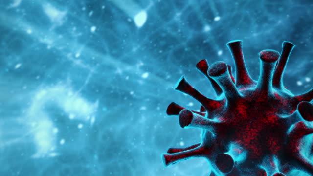 coronavirus covid-19 or virus backgrounds - genetic mutation stock videos & royalty-free footage