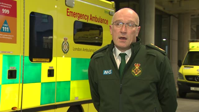 cressida dick visits london ambulance service gvs and interviews; part 3 of 3 england: london: wembley stadium: ext dame cressida dick interview sot... - größter stock-videos und b-roll-filmmaterial