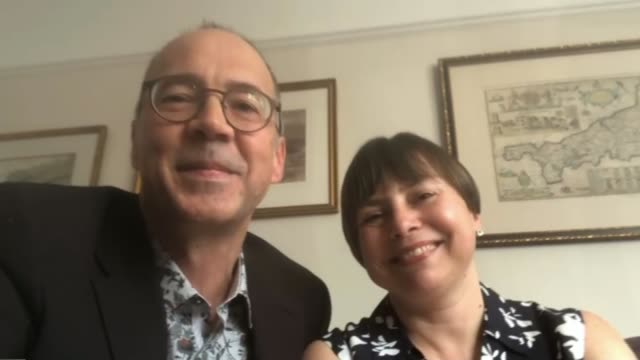 doctors bring forward their wedding so they can help fight the covid19 disease england bristol int doctors dominique thompson and simon bradley who... - diary stock videos & royalty-free footage
