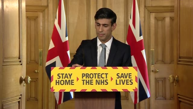 donwing street press conference april 20th england london westminster downing street int press conference part 5 of 10 rishi sunak mp angela mclean... - uneven stock videos & royalty-free footage