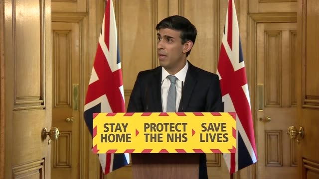donwing street press conference april 20th; england: london: westminster: downing street: int press conference part 7 of 10 rishi sunak mp , angela... - recovery stock videos & royalty-free footage