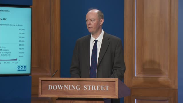 downing street press conference 12th july 2021; press conference part 2 of 10 england: london: westminster: downing street: int boris johnson mp... - 冷知識 個影片檔及 b 捲影像