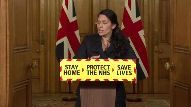 downing street press conference 21st january 2021; press conference part 10 of 10 england: london: westminster: 10 downing street: int dr vin diwakar... - politics点の映像素材/bロール
