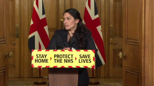 downing street press conference 21st january 2021; press conference part 8 of 10 england: london: westminster: 10 downing street: int dr vin diwakar... - politics stock videos & royalty-free footage