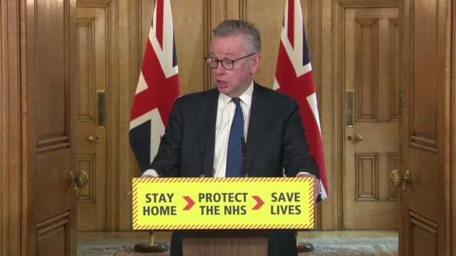 downing street press conference 31st march england london westminster downing street int downing street press conference part 4 of 11 prof stephen... - pedal stock videos & royalty-free footage