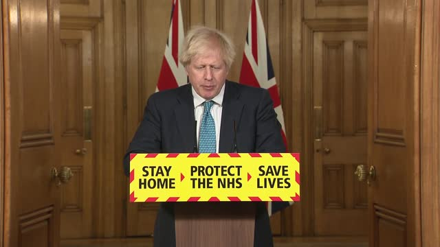 downing street press conference 7th january 2021; press conference part 1 of 10 england: london: westminster: downing street: int boris johnson mp ,... - buddhism stock videos & royalty-free footage