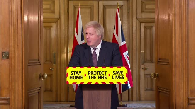 downing street press conference: 8th march 2021; clip 8 of 8 england: london: downing street: number 10: int question and answer session boris... - smooth stock videos & royalty-free footage