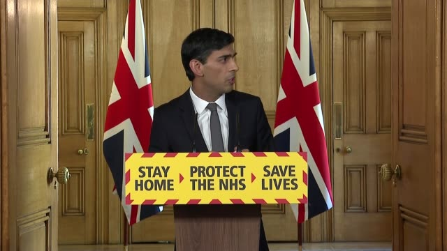 downing street press conference april 14th england london westminster downing street int press conference part 5 of 11 rishi sunak mp inviting... - idyllic stock videos & royalty-free footage