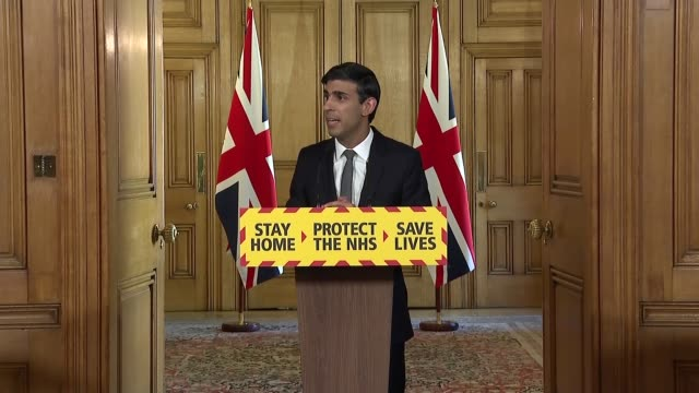 downing street press conference april 14th england london westminster downing street int press conference part 3 of 11 rishi sunak mp inviting... - idyllic stock videos & royalty-free footage