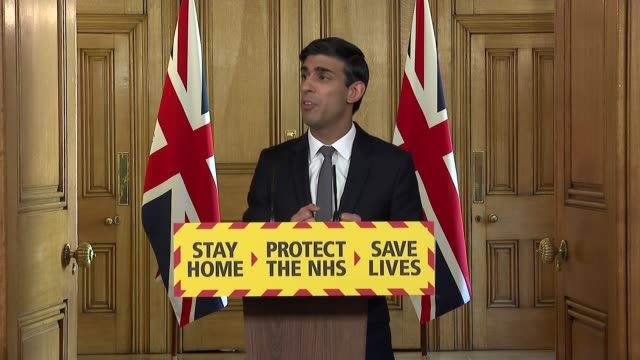 downing street press conference april 14th england london westminster downing street int press conference part 4 of 11 rishi sunak mp inviting... - idyllic stock videos & royalty-free footage