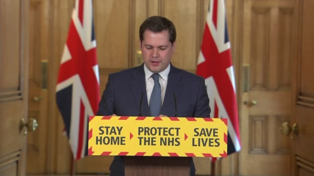 downing street press conference april 18th england london westminster 10 downing street int press conference part 3 of 12 robert jenrick mp statement... - simple living stock videos & royalty-free footage