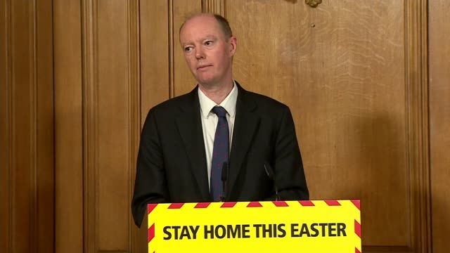 downing street press conference april 9th; england: london: westminster: downing street: int press conference part 9 of 9 dominic raab mp , prof... - number 9 video stock e b–roll