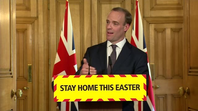 downing street press conference april 9th england london westminster downing street int press conference part 4 of 9 dominic raab mp prof chris witty... - caucasian appearance stock videos & royalty-free footage