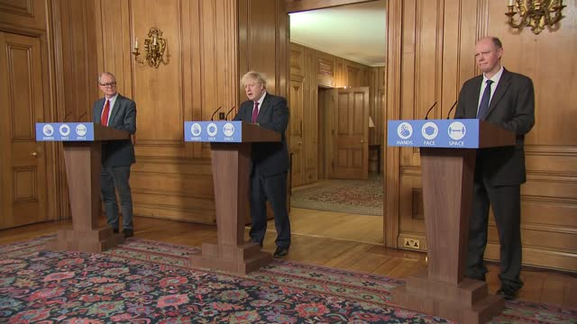 downing street press conference december 19th: cutaways; 2 of 9 england: london: 10 downing street: int boris johnson mp press conference opening... - pressekonferenz stock-videos und b-roll-filmmaterial