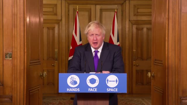 downing street press conference december 2nd; england: london: westminster: downing street: int press conference part 4 of 10 professor jonathan... - perfection stock videos & royalty-free footage