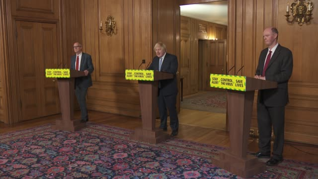 downing street press conference july 3rd cutaways england london 10 downing street int cutaways boris johnson mp opening statement to daily downing... - politics stock-videos und b-roll-filmmaterial