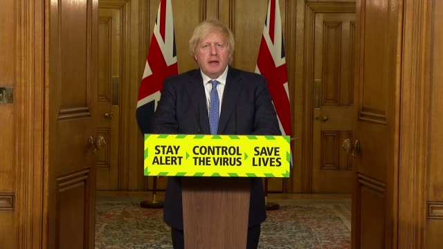 downing street press conference july 3rd * part 3 of 9 * england london westminster downing street int boris johnson mp press conference statement... - politics stock-videos und b-roll-filmmaterial