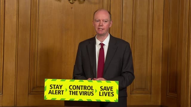 downing street press conference july 3rd * part 4 of 9 * england london westminster downing street int boris johnson mp sir patrick vallance and... - politics stock-videos und b-roll-filmmaterial