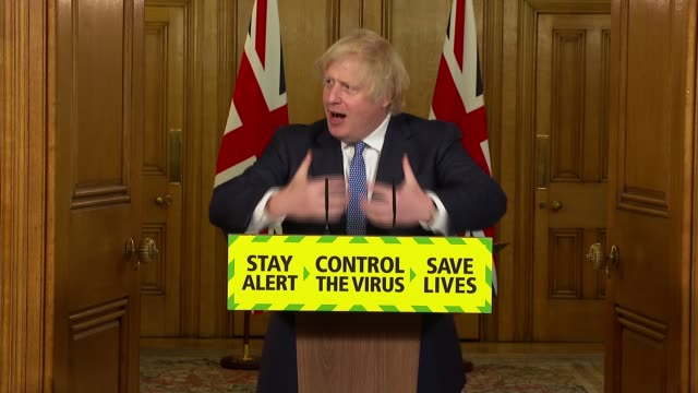 downing street press conference july 3rd * part 5 of 9 * england london westminster downing street int boris johnson mp sir patrick vallance and... - politics stock-videos und b-roll-filmmaterial